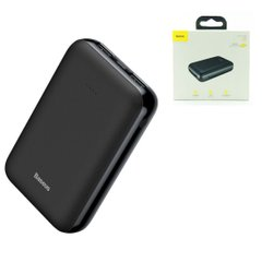 Power Bank Baseus PPJAN-A01 10000mAh, Черный
